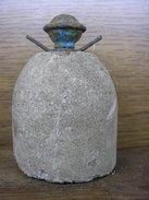 German Concrete Egg Grenade ! Inert - 1939-45