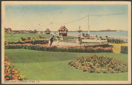 Esplanade Gardens, Ryde, Isle Of Wight, 1949 - WJ Nigh Postcard - England