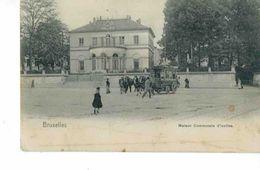 Ixelles - Maison Communale Avec Attelage - Transport Urbain En Surface