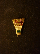 USSR Badminton Federation - Soviet Pin Badge - Badminton