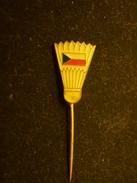 Czech Republic Badminton Federation -  Pin Badge - Badminton