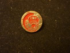 IBF - International Badminton Federation -  Pin Badge - Badminton