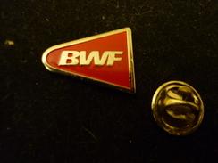 BWF - Badminton World Federation -  Pin Badge - Badminton