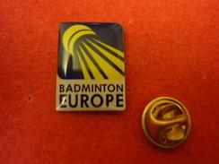 Badminton Europe - Pin Badge - Badminton
