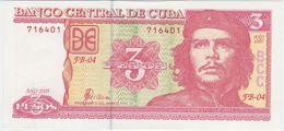 Cuba P 127 B - 3 Pesos 2005 - UNC - Cuba