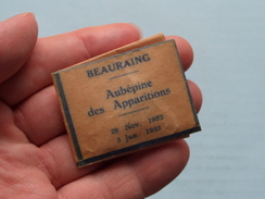 BEAURAING Aubépine Des Apparitions 29 Nov 1932 - 3 Jan 1933 ( RELIKWIE - RELIQUIARIO - RELIC - RELIQUARY - RELIQUAIRE ) - Godsdienst & Esoterisme