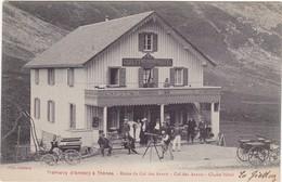 Tramway D'Annecy à Thônes - Route Du Col Des Aravis - Col Des Aravis - Chalet Hôtel - Belle Animation - TBE - Annecy