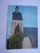 CPSM 59 - LEZENNES L'EGLISE ET LE MONUMENT - Lille