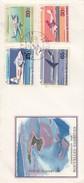 CONDOMINIUM DES NOUVELLES HEBRIDES - PREMIER JOUR AVIATION AUX N. H.- PISTE D'ANATOM - PORT VILA 29 FEV 72 / 2 - FDC