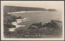 Treryn Dinas From Porthcurnow, Cornwall, C.1930s - Hawke RP Postcard - England