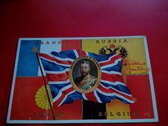 PATRIOTIQUE FRANCE RUSSIA JAPAN BELGIUM - Patriottiche