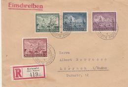 General Gouvernement Lettre Recommandée Koluszki Pour L'Allemagne 1942 - 1939-44: 2. WK