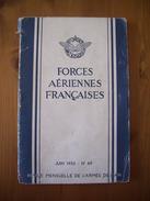 INDOCHINE / ARMEE DE L'AIR / REVUE DES FORCES AERIENNES FRANCAISES / JUIN 1952 / ORIGINAL - Magazines & Papers