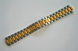 Watches BANDS : TITAN TWOTONE COLOR: GOLD & ST.ST. - 20mm - Original - Swiss Made - Excelent Condition - Autres