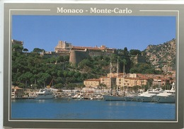 Monaco Monte Carlo : Palais Princier Surplmobant Le Port (n°26 Cp Vierge) - Monaco