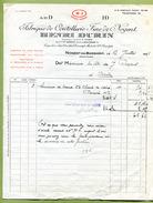 """NOGENT-EN-BASSIGNY  (52) : """" COUTELLERIE  HENRI DURIN """"  1937 - France"""