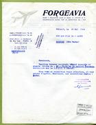 "FOULAIN  (52) : "" FORGEAVIA ""  1960 - France"