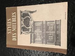 STYLES DES MEUBLES - Payot - Livres, BD, Revues