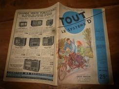 1949 Tout Le Système D :Faire --> Cyclo-Moteur 2 Pl;Pyrograveur;Lanterne-sécurité,Cloture De Terrain,Couveuse Artif;etc - Bricolage / Technique