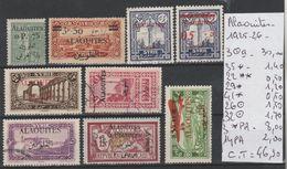 TIMBRES EN LOT DE ALAOUITES   COLONIE FRANCAISE Nr VOIR SUR PAPIER AVEC TIMBRES COTE 46.30€ - Alaouites (1923-1930)