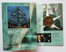 2 Euros Commémorative Belgique Coincard Atomium  2006 - Belgium