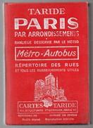 712z  Paris Par Arrondissements Banlieue Rues Cartes Adresses Pratiques Et Metro Autobus - Toerisme