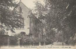 CARTE POSTALE ORIGINALE ANCIENNE : LONS LE SAUNIER LA CHAPELLE DE L'ANCIEN SEMINAIRE ANIMEE JURA (39) - Lons Le Saunier