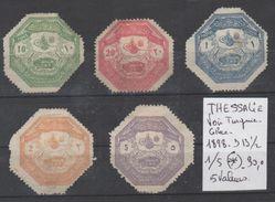 TIMBRES EN LOT DE THESSALIE VOIR TURQUIE-GRECE  Nr 1/5 ( * ) 5 VALEURS  1998 - 1903 COTE 30 € - Turquie