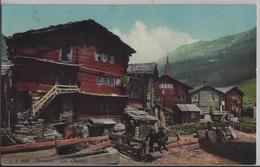Zermatt - Les Chalets - Animee - Photo: Jullien Freres - VS Valais