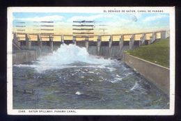 Panamá. Canal Zone. *El Desague De Gatun* Ed. J. L. Maduro Nº 234-B. Circulada 1931. - Panamá