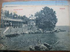 Croatia Opatija Abbazia Angiolina Seebad 1908. - Kroatië