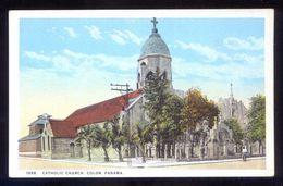 Panamá. Cristobal Colón. *Catholic Church* Ed. J. L. Maduro Nº 189-B. Nueva. - Panamá