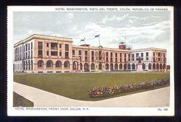 Panamá. Cristóbal Colón. *Hotel Washington, Vista Del Frente* Ed. J. L. Maduro Nº 552. Nueva. - Panamá