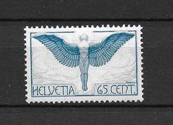 LOTE 1530   ///   (C010)  SUIZA  1924   YVERT Nº: 10 AEREO **MNH - Poste Aérienne