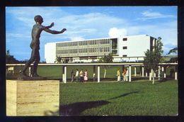 Panamá. Panamá City. *Universidad, Estatua Hacia La Luz...* Ed. HS Crocker. Circulada 1963. - Panamá