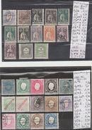 TIMBRES EN LOT DE MOZANBIQUE Nr VOIR SUR PAPIER AVEC TIMBRES 1881-92-1911-05 COTE 45.40 € - Mozambique