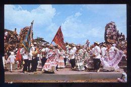 Panamá. Old Panamá. *Bailes Típicos...* Ed. M. Roberts Nº C-22463. Circulada 1975. - Panamá