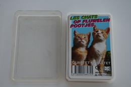 Speelkaarten - Kwartet, Katten - Op Fluwelen Pootjes, Nr 66272.5, Hemma , *** - - Cartes à Jouer Classiques