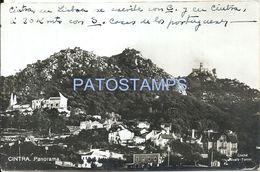 83309 PORTUGAL CINTRA LISBOA VIEW PANORAMA CIRCULATED TO ARGENTINA POSTAL POSTCARD - Non Classés