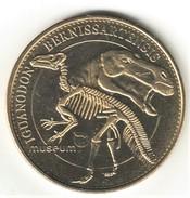 Medaille Arthus Bertrand. Belgique. Musée De Bruxelles Iguanodon 2007. Neuve - Arthus Bertrand