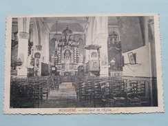 Intérieur De L'Eglise WENDUYNE ( Ave Maria ) Anno 19?? ( Zie Foto Voor Details / Gekarteld (?) ) - Wenduine