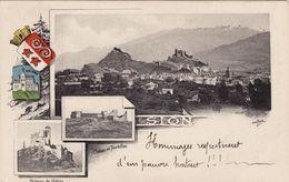 Sion - Chateau De Valère - Chateau De Tourbillon - VS Valais