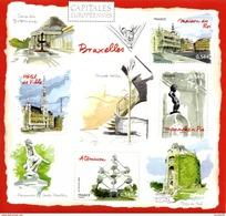 France.bloc No 111 De 2007.capitales Européennes.bruxelles.n**. - Mint/Hinged
