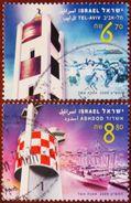 FREE POSTAGE!! Israel 2009 Lighthouses, Leuchttürme, Phares, Vuurtorens, Faros, Fari, 2v Part, Used, Gestempelt, Ex - Vuurtorens