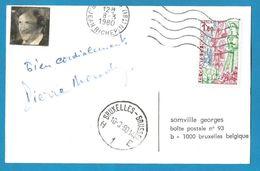 (A861) - Signature / Dédicace / Autographe Original - Pierre MONDY - Acteur - Autographes