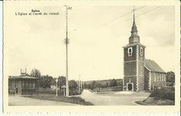 Saive -- L' Eglise Et L' Arrêt Du Vicinal.      (2 Scans) - Beyne-Heusay