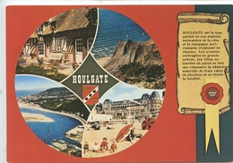 Houlgate Multivues : Histoire Parchemin Sceau (cp Vierge N)300) - Houlgate