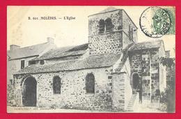 CPA Molèdes - L'Église - Autres Communes