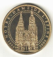 Medaille Arthus Bertrand 51.L'Epine - Cathédrale Notre Dame 2006. Neuve - Arthus Bertrand