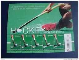 2014 (4421) Hochey World Cup Postfris - Panes